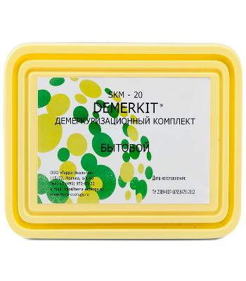 Набор для демеркуризации DEMERKIT SKM-20 (бытовой)
