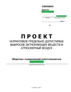 Пример ПДВ 1